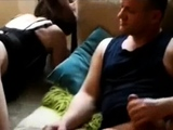 Cheating wife takes a foot long black cock