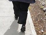 Arab ass walking hijab