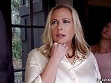 milf blonde fucks her ass with big dick