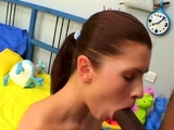 Sex-starved russian girl Aurora gets fucked deep