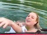 Swiming nude
