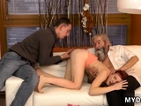 Old bj Unexpected experience with an older gentleman