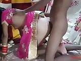 Newly married Indian couple enjoyed