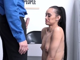 Shoplyfting milf gets penalty ANAL fucked at LPs office