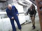 mistress kicks her slave