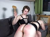 Clip 148SK-A Dyke Slapping And Whipping - 17:59min, Sale:$17