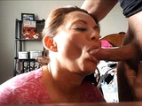 cheating neighbour lets me cum on her