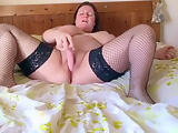 solo selfie orgasm compilation of horny housemate dildoing.