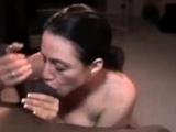 Busty Brunette Milf Works Her Magic On A Big Black Cock