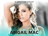 ADULT TIME Abigail Mac Best ALL GIRL Sex Compilation
