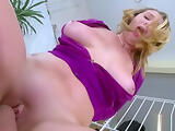 Admirable lady brooke wylde with huge tits is licking prick