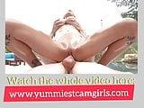 Wet Busty Cowgirl Gabbie Carter Enjoys Outdoor Sex