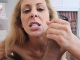 Mom fucked while stuck in sink Cherie Deville in