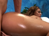 Gal bounds on dong feeling it deep inside of her taut ass