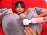 Exquisite busty japanese Anna Natsuki enjoys every bit