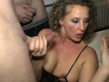 german hardcore creampie and cum sexparty gangbang