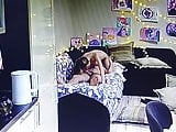In young couple having sex with Spy-cam on (private) 2