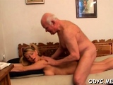 This old boy knows how to entice a much younger doxy