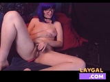 Celeste Mature And Hairy Slut Masturbating On WebCam