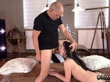 Old man young girl anal gangbang Vacation in mountains