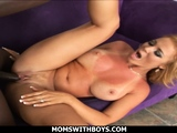 Interracial Sex Fun With A Sexy Hot Mom