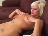 Playgirl exposes butt upskirt and outstanding pink flaps