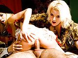 MILFs Chloe Delaure and Lydie Lust Take Turns Getting Anal