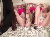 scandinavian amateur threesome orgy