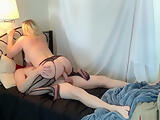 Stepmom is horny and cant find her sex toy