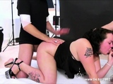 French BBW Julia gets fists and dicks in all holes