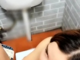Asian Sex in a Public Restaurant Toilet by SexyHotWebcams