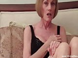 Mature Swinger Plays With A Stranger