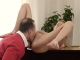 Hung old man and daddy training cronys daughter Stranger