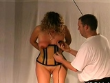 Charming honey is playing with herself just for fun