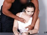 LAW4k. Chick steals wallets in the park and gets fucked