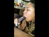 Anal loving amateur give he man a handjob and blowjob