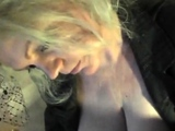 Arschlady Angelique Ficken Blasen mit Lederhandschuhe !!