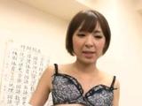Sassy busty darling Hikaru Shiina and her wild lust