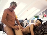Old man cums in young girl What would you choose -