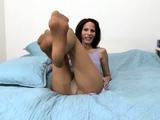 Hip gor nylon stockings pantyhose footjobs foot fetish sex