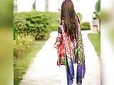 Pakistani pindi girl noor fatima of fuaast uni strips