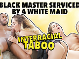 BLACK4K. Monique works as maid but wants to get BBC in her
