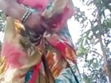 Indian Village aunty Nude Show