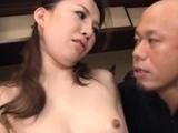 Playful gal Keiko Takikawa gets rammed with joy