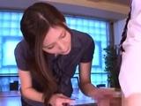 Extraordinary oriental Yuna Shiina gets hammered