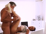 Old man licking pussy xxx Finally shes got her manager