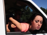 Milf dominates teen first time Engine issues out in the