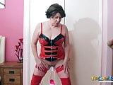 EuropeMaturE Busty British Lady Solo Masturbation