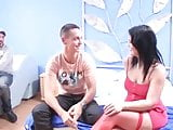 Montse enjoys a great dick while husband watches! He cant b