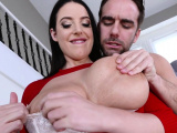 Latina milf loves the cock inside her